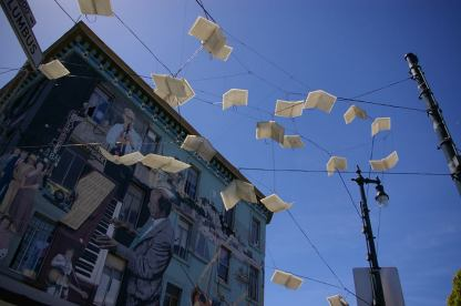 Books in Air - North Beach