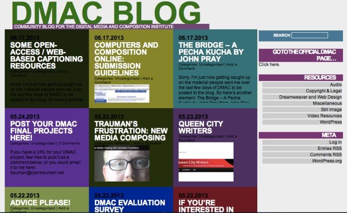 DMACBlog